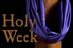 Holy Week Events