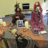 Remembrance Articles on Altar at Womansong 2015