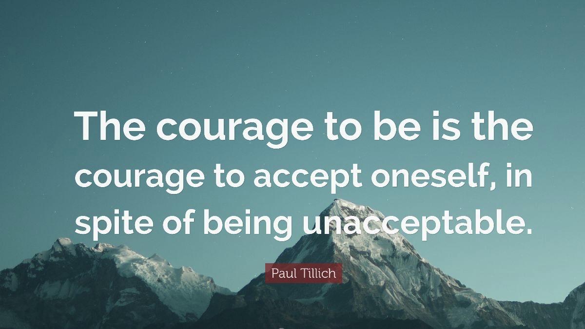 Courage Week 2
