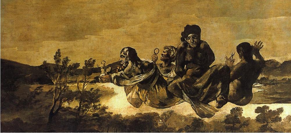 Átropos o las Parcas. Goya