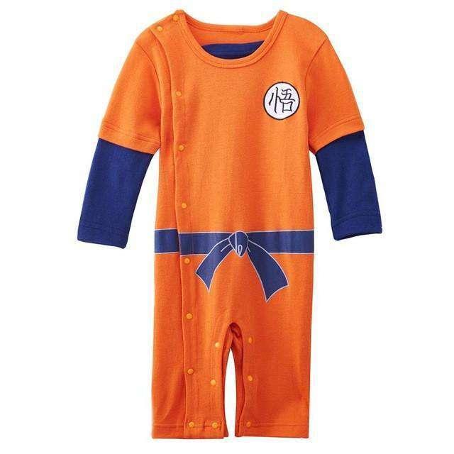 Body enfant Dragon Ball Z Symbôle Goku jambes longues