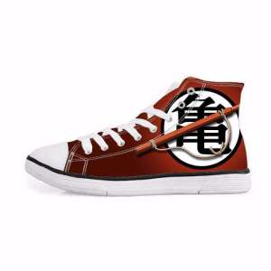 Chaussures Baskets Dragon ball Z Goku Symbôle