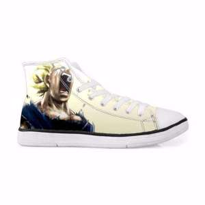 Chaussures Baskets Dragon ball Z Vegeta Super Saiyan