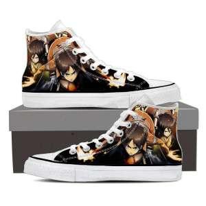Chaussures Baskets L'attaque des titans Eren X Mikasa