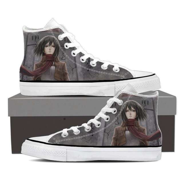 Chaussures Baskets L'attaque des titans Mikasa