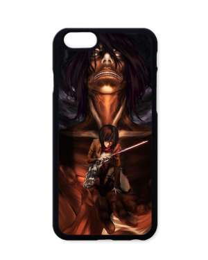 Coque Attack On Titan Mikasa X Eren