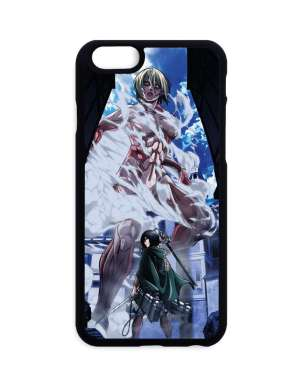 Coque Attack On Titan Mikasa X Female Titan
