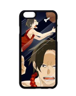 Coque One Piece Luffy X Ace