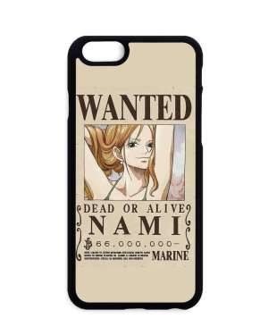 Coque One Piece Nami Wanted