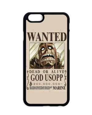 Coque One Piece Usopp Wanted