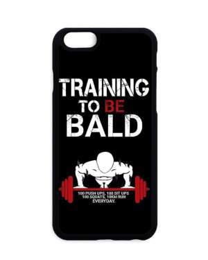 Coque One Punch Man Training To Be Bald