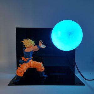 Lampe Dragon Ball Z Goku Blue Kamehameha