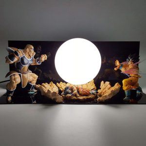 Lampe Dragon Ball Z Goku Vs Nappa