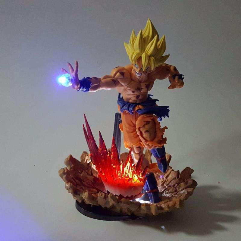 Lampe Led Dragon Ball Z Goku Super Saiyan
