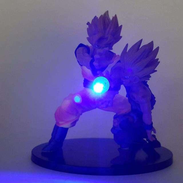Lampe LED Dragon Ball Z Goku X Gohan Kamehameha