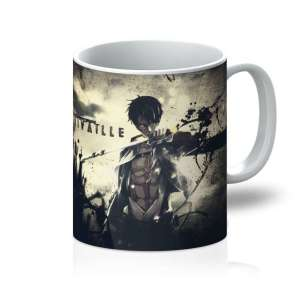 Mug Attack On Titans Rivaille 2
