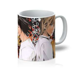 Mug Death Note Light  X Detective L