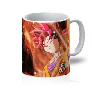 Mug Dragon Ball Super Goku Red God