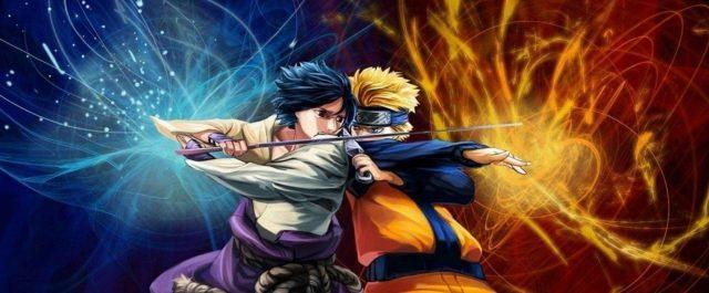 Mug Naruto Vs Sasuke