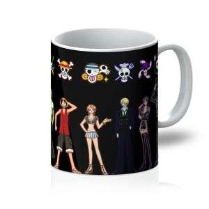 Mug One Piece Crew Symbols