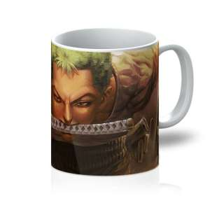 Mug One Piece Zoro Swords