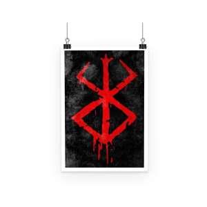Poster Berserk Symbol
