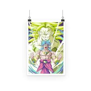 Poster Dragon Ball Z Broly Evolution