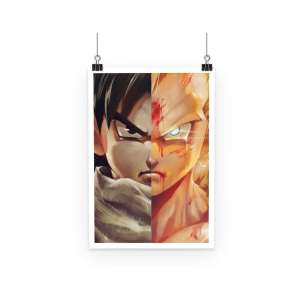 Poster Dragon Ball Z Gohan Super Saiyan Evolution