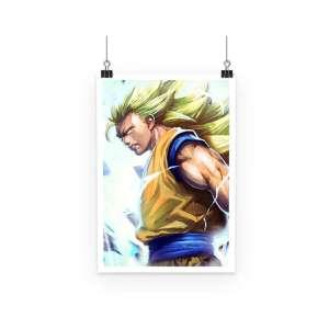 Poster Dragon Ball Z Goku SSJ 3