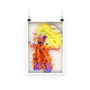 Poster Dragon Ball Z Goku Super Saiyan 3