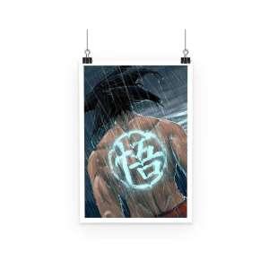 Poster Dragon Ball Z Goku Symbol