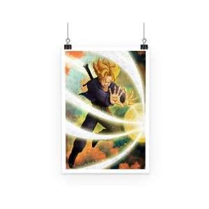Poster Dragon Ball Z Trunks Super Saiyan