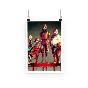 Poster Hunter X Hunter Zoldyck Family