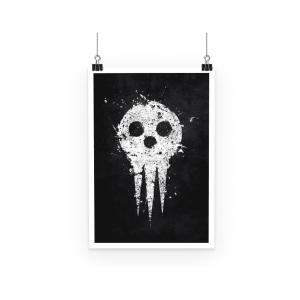 Poster Soul Eater Death Symbol