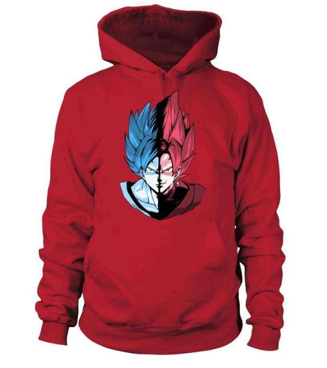 Pull à capuche Dragon Ball Super Goku Vs Black