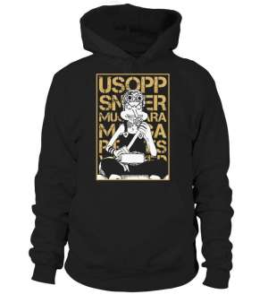 Pull à capuche One Piece Usopp Wanted