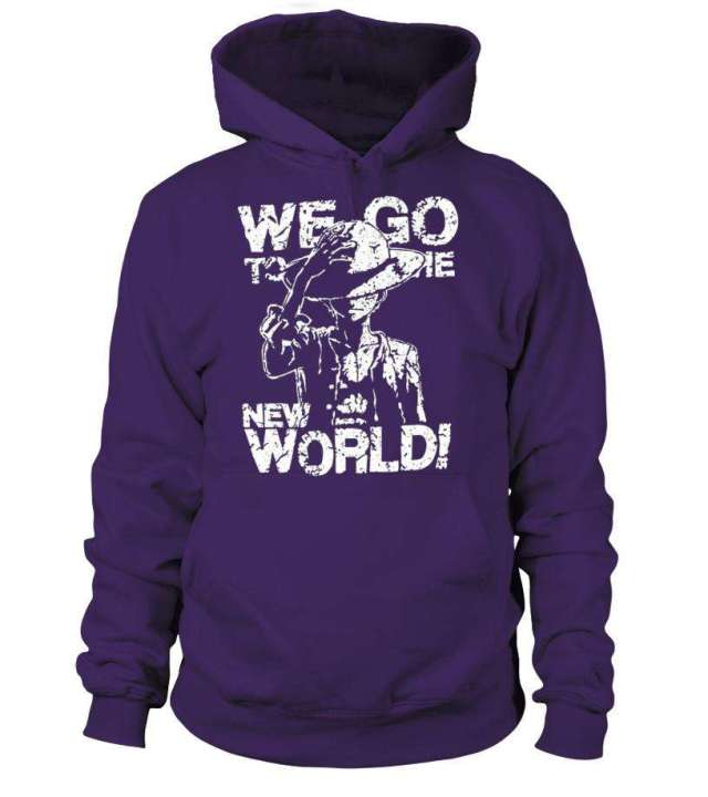Pull à capuche One Piece We Go To The New World