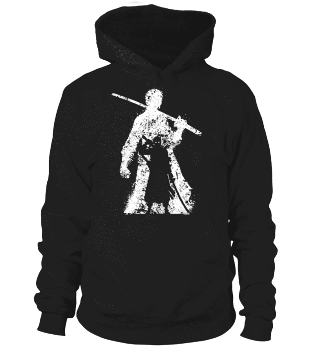 Pull à capuche One Piece Zoro Legend