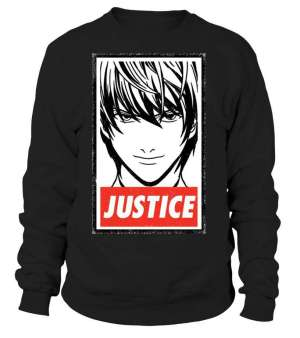 Sweat Classique Death Note Light Justice