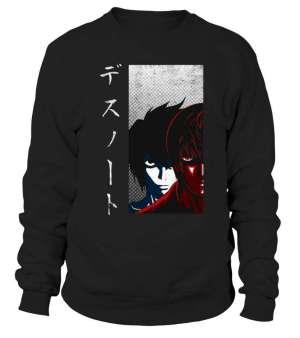 Sweat Classique Death Note Light X Detective L