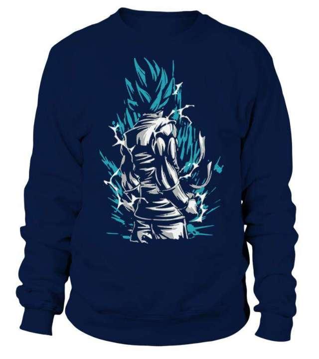 Sweat Classique Dragon Ball Super Goku Blue God