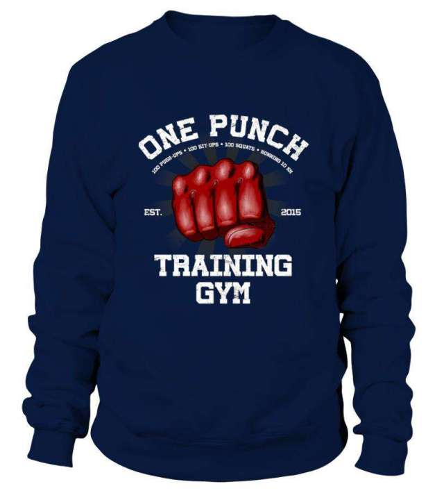 Sweat Classique One Punch Man Training Gym