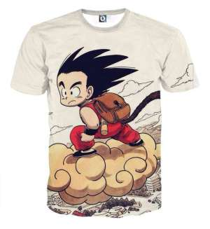 T Shirt 3D All Over Dragon Ball Goku Kinto