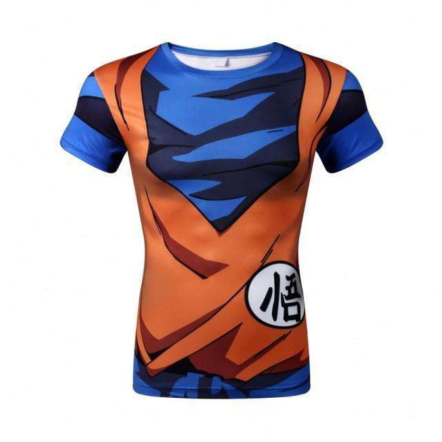 T Shirt 3D All Over Dragon Ball Z Goku Armor