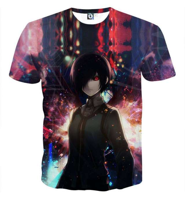 T Shirt 3D All Over Tokyo Ghoul Touka