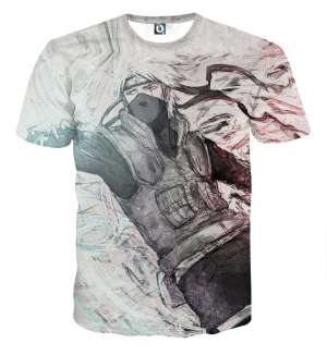 T Shirt All Over 3D Naruto Kakashi