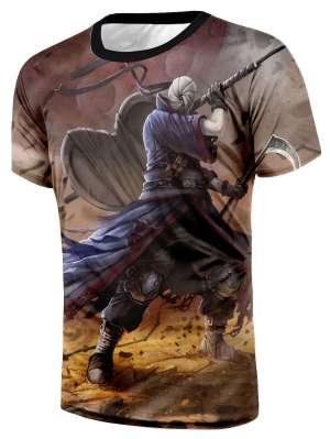T Shirt All Over 3D Naruto Obito