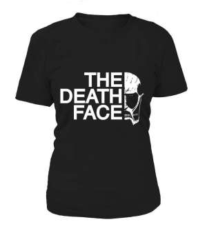 T Shirt Femme Attack On Titans The Death Face