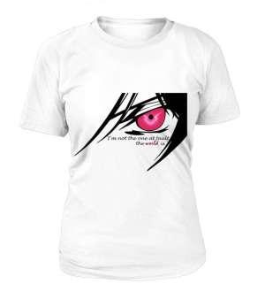 T Shirt Femme Code Geass Lelouch