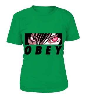 T Shirt Femme Code Geass Lelouch Obey